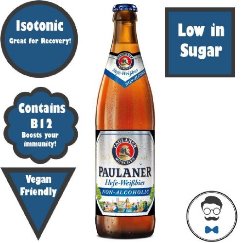 Paulaner Hefe-Weißbier Non-Alcoholic Beer (0.5% ABV)